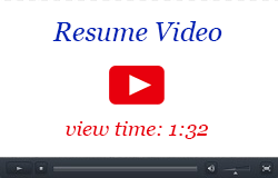 Resume Video: view time - 1:32