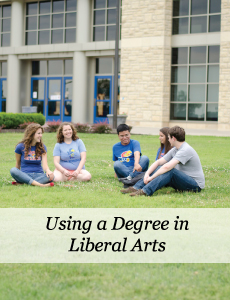 Using a degree in liberal arts