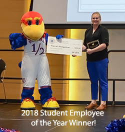 2018 Student Employee of the Year!