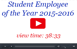 Student Employee of the Year Video, 2015-2017, 38:33