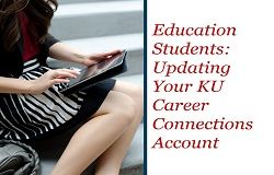 Education Students: Updating Your Account