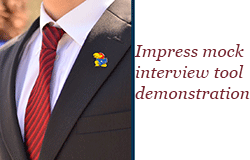 Impress Mock Interview Tool Demonstration
